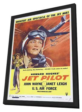 Jet Pilot - 11 x 17 Movie Poster - Style A - in Deluxe Wood Frame