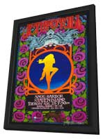 Jethro Tull - 11 x 17 Music Poster - Style A - in Deluxe Wood Frame