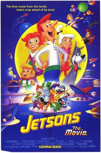 Jetsons: The Movie - 43 x 62 Movie Poster - Bus Shelter Style A