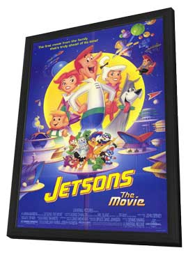 Jetsons: The Movie - 11 x 17 Movie Poster - Style A - in Deluxe Wood Frame