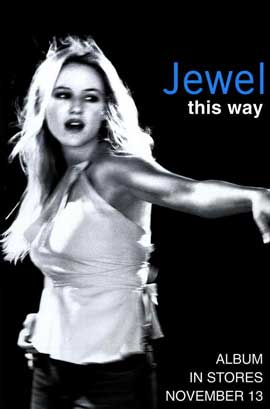 Jewel - 11 x 17 Music Poster - Style A