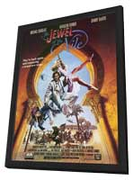 The Jewel of the Nile - 11 x 17 Movie Poster - Style B - in Deluxe Wood Frame