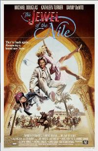The Jewel of the Nile - 27 x 40 Movie Poster - Style B