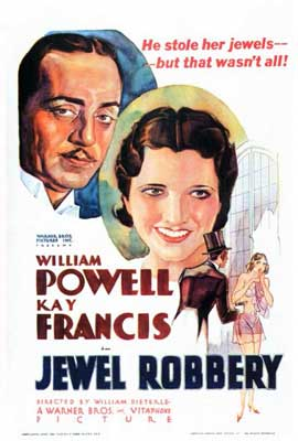 Jewel Robbery - 27 x 40 Movie Poster - Style A