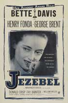 Jezebel - 27 x 40 Movie Poster - Style E