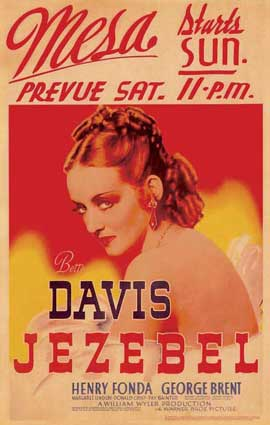 Jezebel - 11 x 17 Movie Poster - Style H