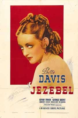 Jezebel - 27 x 40 Movie Poster - Style D