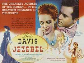 Jezebel - 22 x 28 Movie Poster - Half Sheet Style B