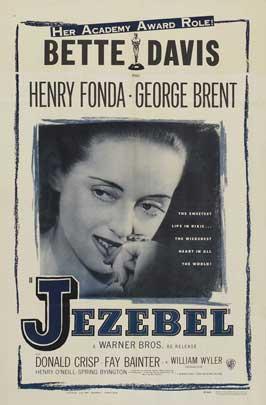 Jezebel - 27 x 40 Movie Poster - Style E