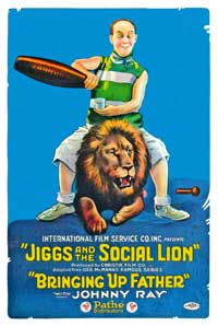 Jiggs and the Social Lion - 11 x 17 Movie Poster - Style A