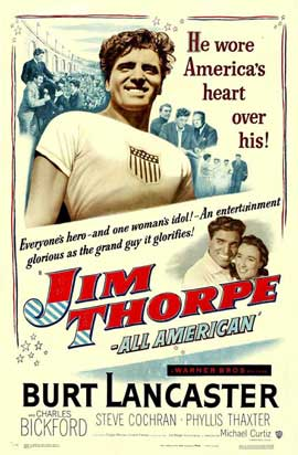 Jim Thorpe - All-American - 11 x 17 Movie Poster - Style A
