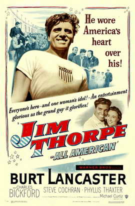 Jim Thorpe - All-American - 27 x 40 Movie Poster - Style A