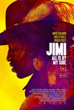 """Jimi: All is by My Side"" Movie Poster"