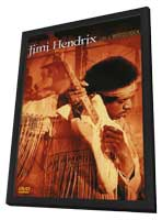 Jimi Hendrix: Live at Woodstock - 11 x 17 Movie Poster - Style A - in Deluxe Wood Frame