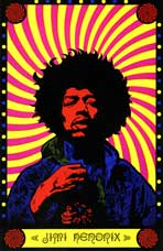 Jimi Hendrix - 11 x 17 Movie Poster - Style A