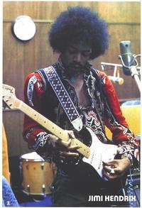 Jimi Hendrix - 24 x 36 Music Poster - Style B