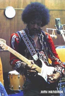 Jimi Hendrix - 11 x 17 Movie Poster - Style C