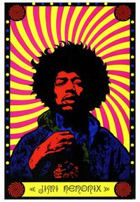 Jimi Hendrix - 43 x 62 Movie Poster - Bus Shelter Style A