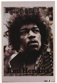 Jimi Hendrix - Music Poster - 22 x 34 - Style A