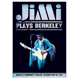 Jimi Hendrix - Jimi Plays Berkeley Canvas Print