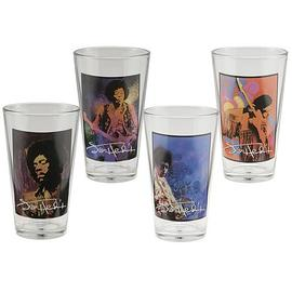 Jimi Hendrix - Glasses 4-Pack