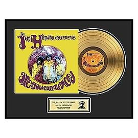 Jimi Hendrix - Are You Experienced Framed Gold Record