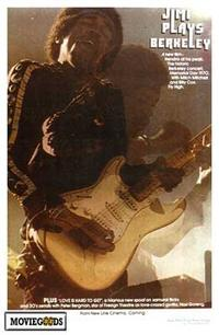 Jimi Plays Berkeley - 43 x 62 Movie Poster - Bus Shelter Style A