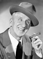 Jimmy Durante - Jimmy Durante Posed in Suit with Cap