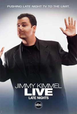 Jimmy Kimmel Live - 11 x 17 TV Poster - Style B
