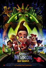 Jimmy Neutron: Boy Genius - 27 x 40 Movie Poster - Style A