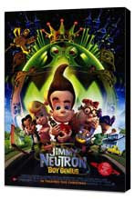 Jimmy Neutron: Boy Genius - 27 x 40 Movie Poster - Style A - Museum Wrapped Canvas
