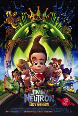 Jimmy Neutron: Boy Genius - 11 x 17 Movie Poster - Style A