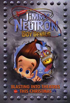 Jimmy Neutron: Boy Genius - 27 x 40 Movie Poster - Style B