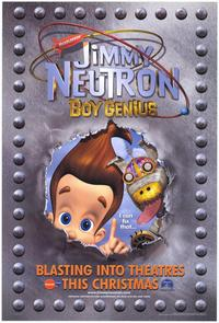 Jimmy Neutron: Boy Genius - 43 x 62 Movie Poster - Bus Shelter Style A