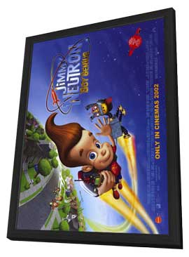 Jimmy Neutron: Boy Genius - 11 x 17 Movie Poster - Style C - in Deluxe Wood Frame