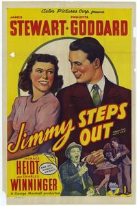 Jimmy Steps Out - 11 x 17 Movie Poster - Style A
