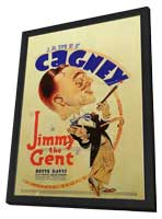 Jimmy the Gent - 27 x 40 Movie Poster - Style B - in Deluxe Wood Frame