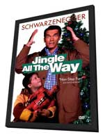 Jingle All the Way - 27 x 40 Movie Poster - Style B - in Deluxe Wood Frame