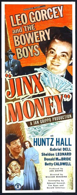 Jinx Money - 14 x 36 Movie Poster - Insert Style A