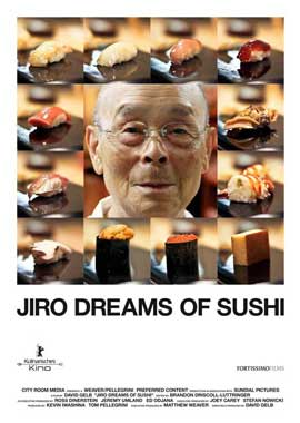 Jiro Dreams of Sushi - 11 x 17 Movie Poster - Style A