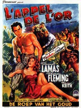 Jivaro - 11 x 17 Movie Poster - Belgian Style A
