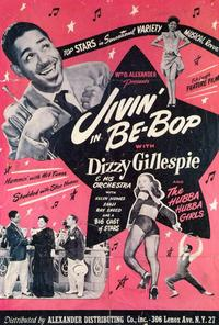 Jivin' in Be-Bop - 27 x 40 Movie Poster - Style A