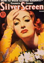 Joan Crawford - 11 x 17 Silver Screen Magazine Cover 1930's Style D