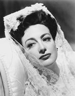 Joan Crawford - Joan Crawford wearing a Veil in a Classic Portrait
