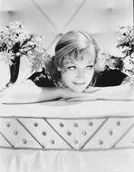 Joan Crawford - Joan Crawford Leaning on the Table