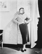 Joan Crawford - Irene Dunne on Dress Portrait