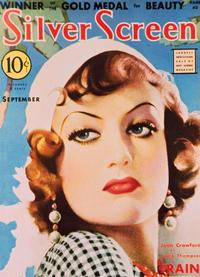 Joan Crawford - 27 x 40 Movie Poster - Silver Screen Magazine Cover 1930's Style A