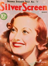 Joan Crawford - 27 x 40 Movie Poster - Silver Screen Magazine Cover 1930's Style C