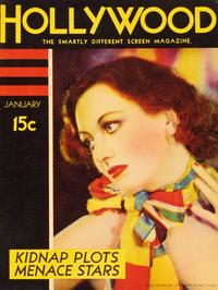 Joan Crawford - 27 x 40 Movie Poster - Silver Screen Magazine Cover 1930's Style E