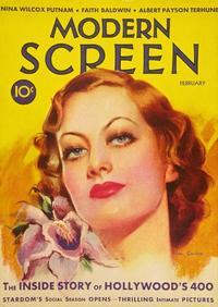 Joan Crawford - 27 x 40 Movie Poster - Modern Screen Magazine Cover 1930's Style B